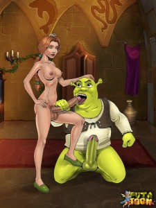 Shreks shemale girlfriends Fiona
